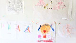 子供のお絵かき変遷 3歳から5歳まで