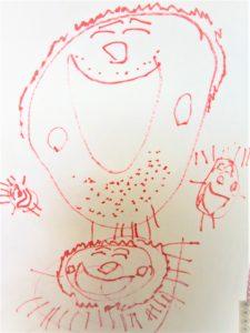 4歳頃の絵