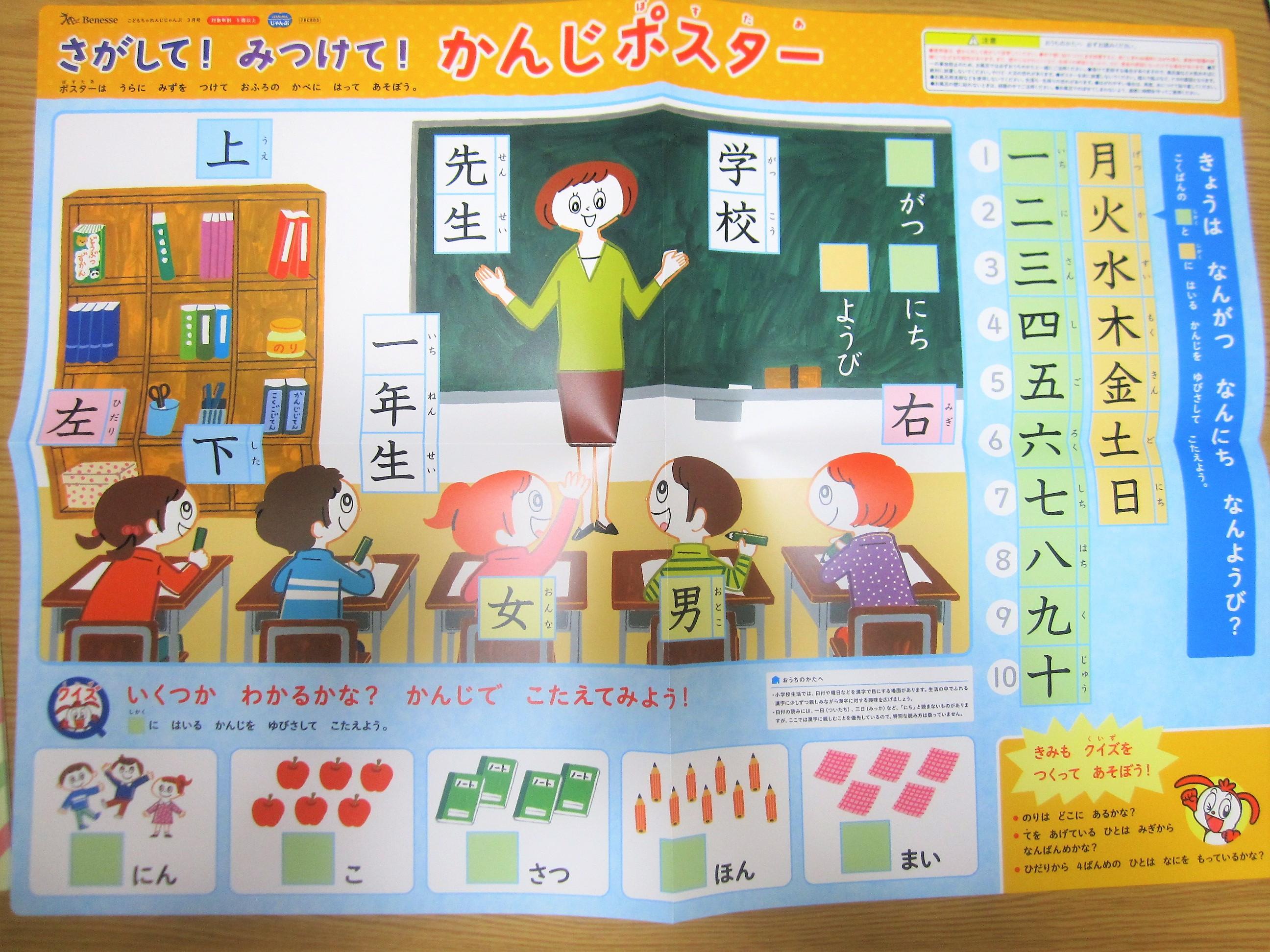 漢字ポスター表