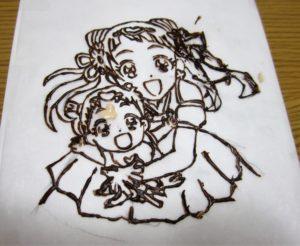 プリキュアケーキ1
