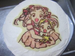 プリキュアケーキ7