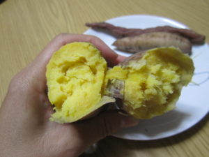 レンジ 焼き芋