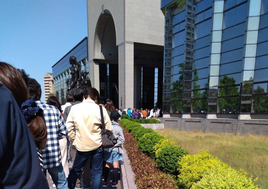 ジブリの大博覧会混雑