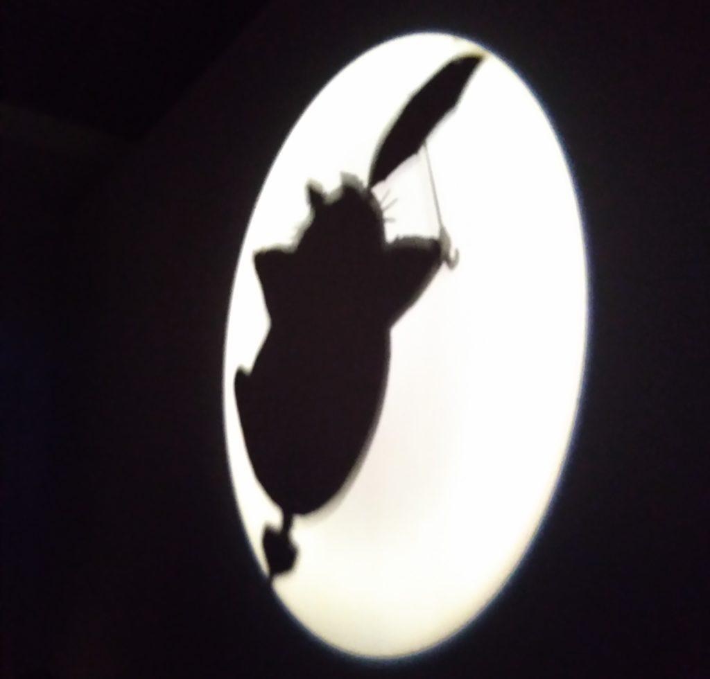 ジブリの大博覧会トトロシルエット